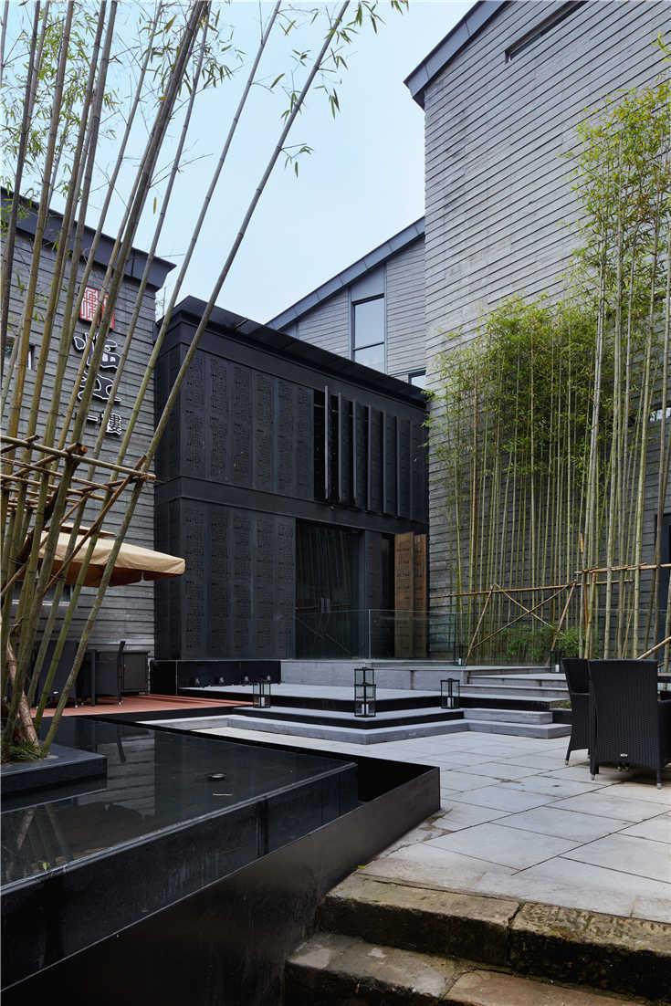 黄山临江一楼,综合性餐饮空间