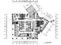 [重庆]欧式风格西餐厅设计CAD施工图(含效果图)