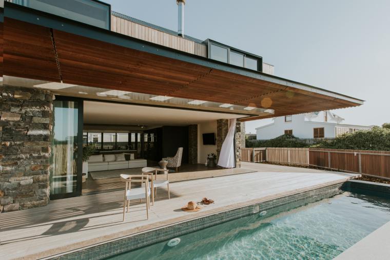 南非海岸线传统的独户家庭住宅-4