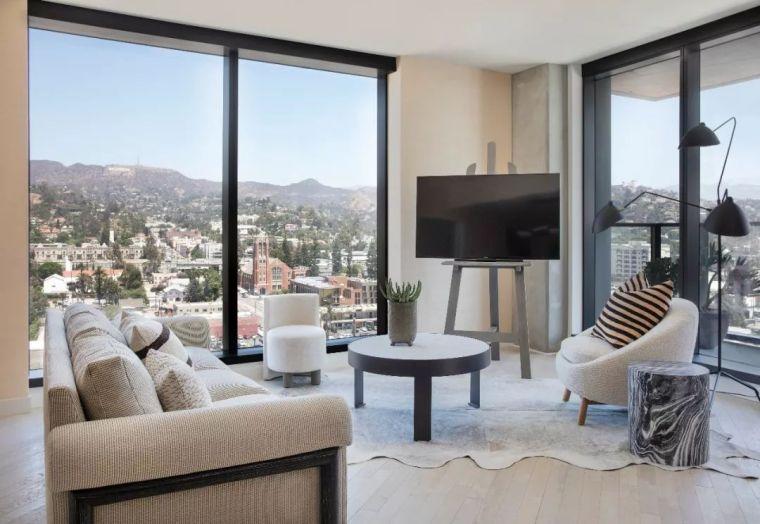 好莱坞的酒店公寓,奢华的画风都变了……_21