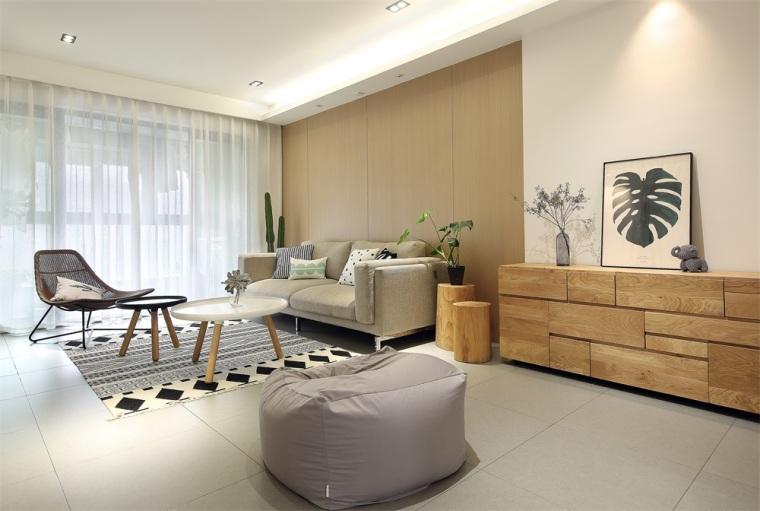 80m²现代混搭风住宅