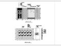两岸咖啡厅室内装修设计CAD图纸(含37张)