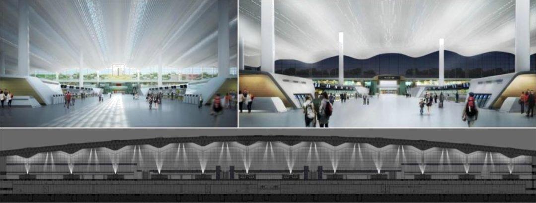 漫谈金属屋面的建筑设计应用(1)——广州新白云国际机场航站楼_31