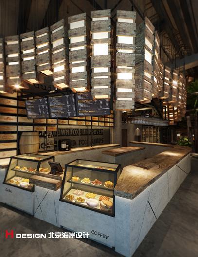 天津塘沽区咖啡厅设计案例_3