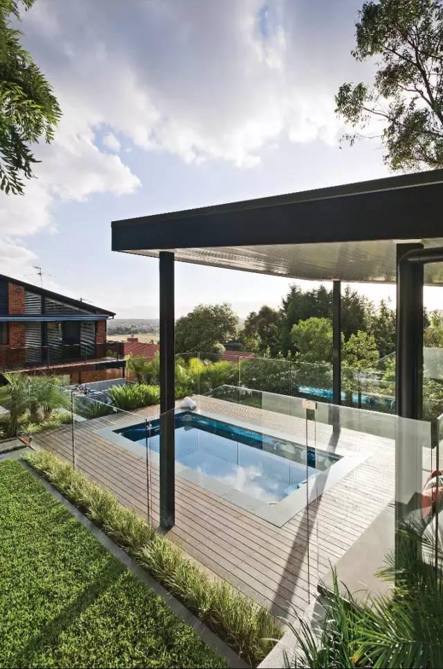 赶紧收藏!21个最美现代风格庭院设计案例_45
