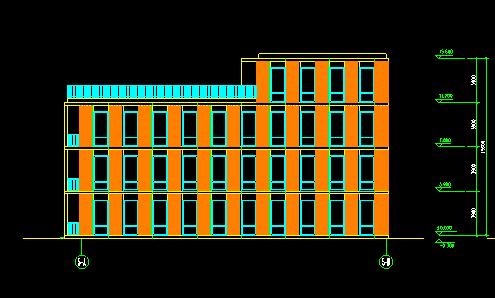 华东设计院——高层高科孵化楼归档施工图