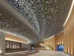 飞碟造型礼堂会馆走廊