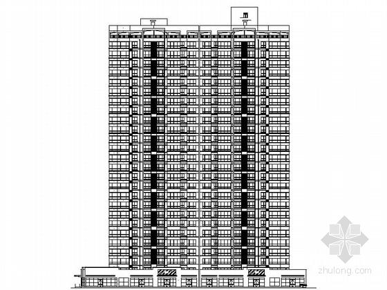 [陕西]现代风格高层住宅建筑施工图
