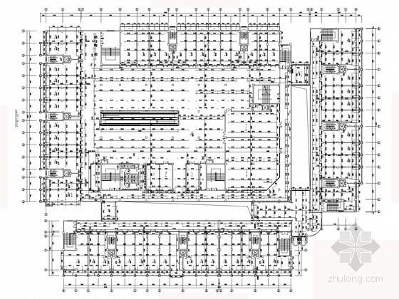 [浙江]三万平商住建筑水暖施工图(太阳能热水)