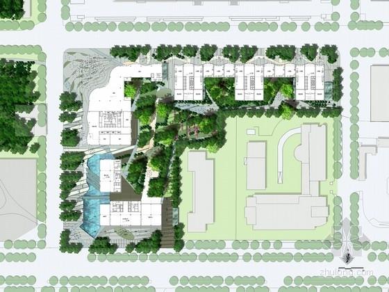 [北京]高端地标商务区景观规划设计方案
