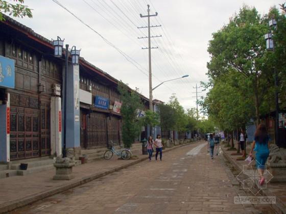 [云南]古城巷道市政道路改造工程投标施工组织设计83页(含排水 电力)