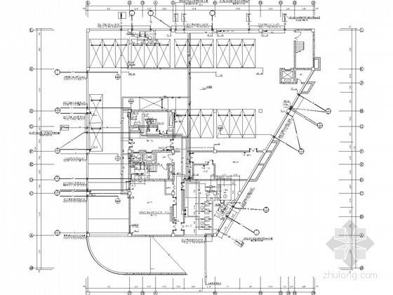 [新疆]农业大厦建筑给排水及采暖施工图(大型甲级设计院)