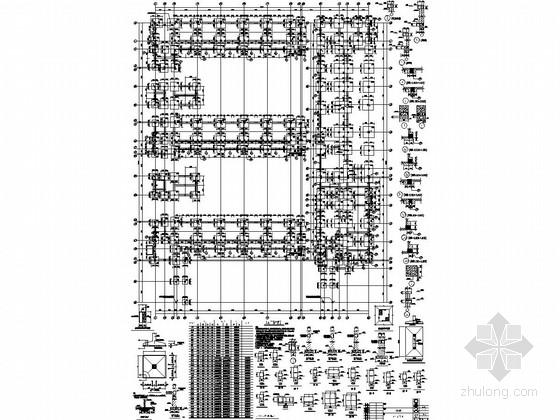 [北京]地上五层框架结构小学教学楼结构施工图