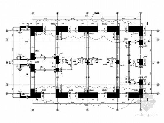 [深圳]98层金融中心结构施工图(带蛋形餐厅)