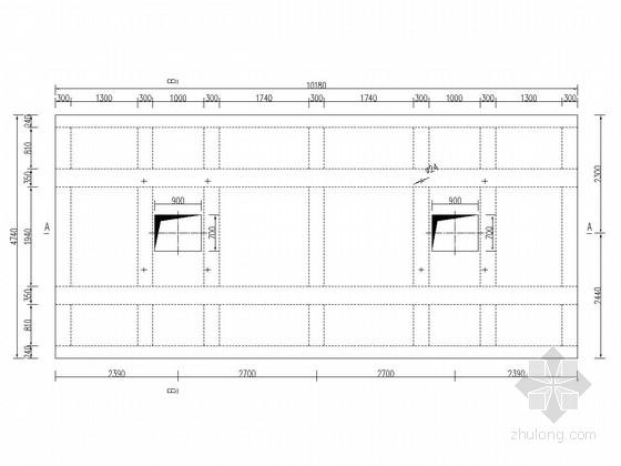 [湖南]水闸启闭平台工程施工图