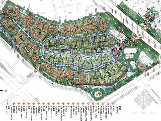 [云南]中式古典风格居住区景观设计方案(国际知名设计机构双方案作品)
