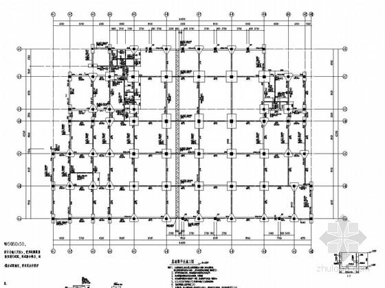 [实训楼]五层框架结构教学楼结构图