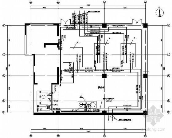 商业楼换热站设计施工图
