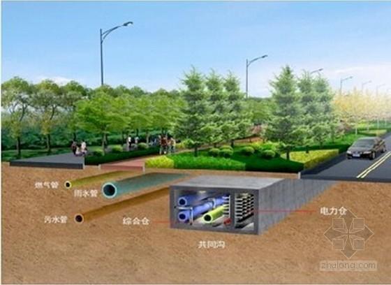 2015城市综合管廊工程投资估算指标(175页)