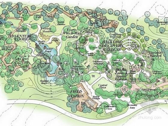 [英国]莫顿儿童森林主题公园景观设计方案(著名景观公司英文版)