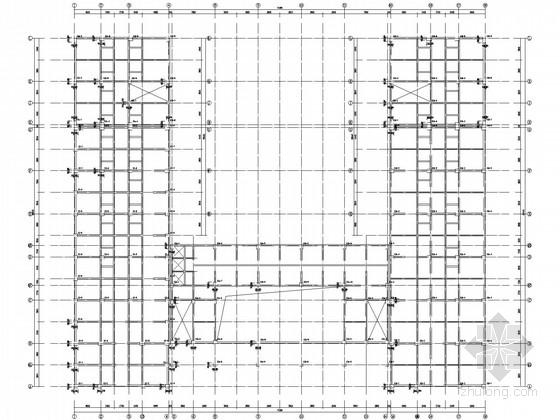 局部四层带地下室框架酒店结构施工图