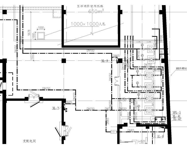 上海某商场建筑给排水设计毕业设计水初