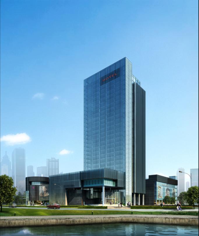 [合集]五套五星级酒店建筑方案文本(新中式及现代设计)_13