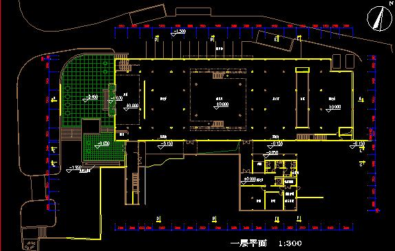 杭州中式现代风格历史博物馆建筑方案图