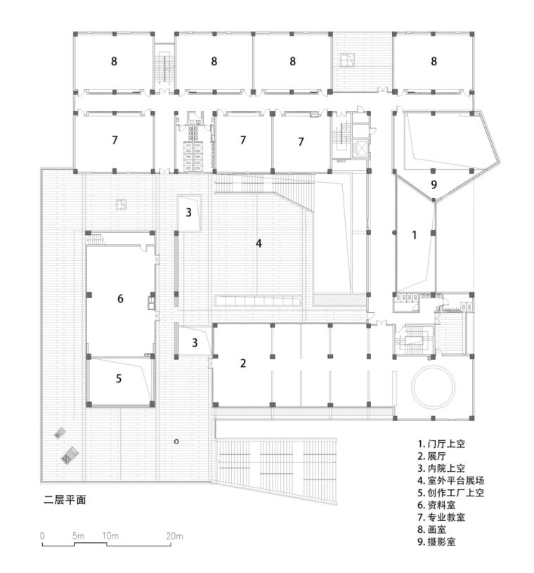 安徽大学艺术与传媒学院美术楼-20