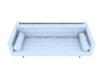 白色沙发3D模型下载