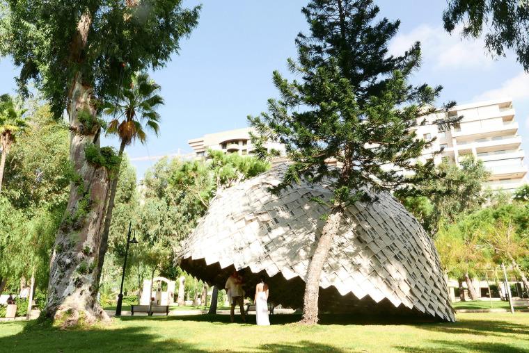 黎巴嫩纸穹顶装置