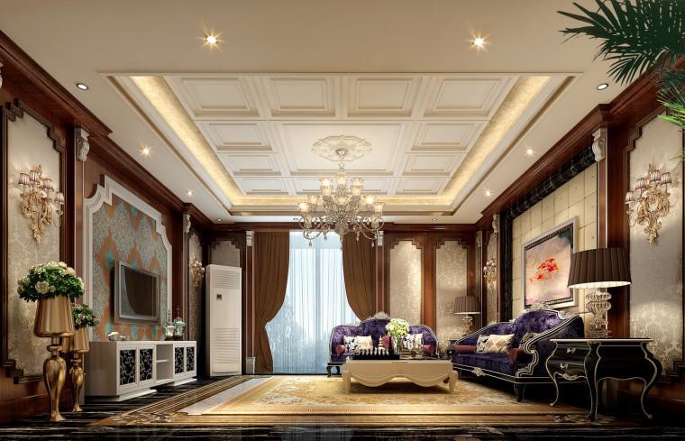 郑州家装设计法式新古典——联盟新城家居设计