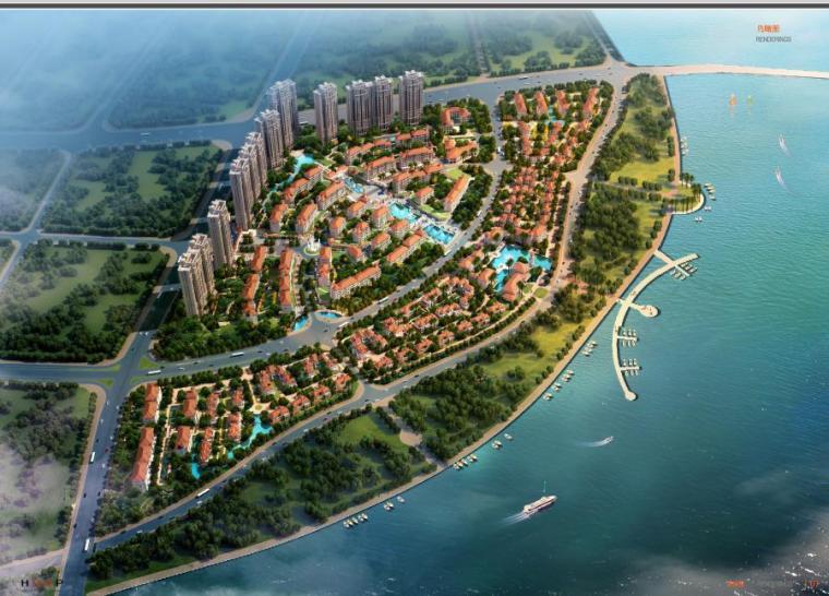 [厦门]高层欧式风格低密度高端住宅社区中心建筑方案文本