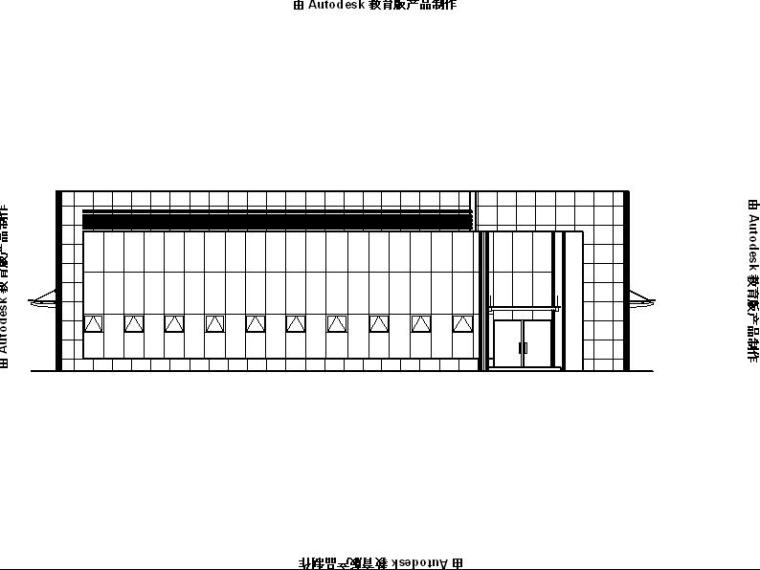 [宁夏]两层钢结构4S汽车店建筑施工图(含三个方案)