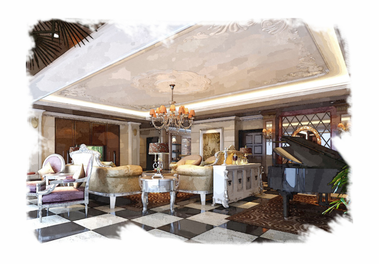 郑州家装设计时尚百老汇--绿城百合平层设计