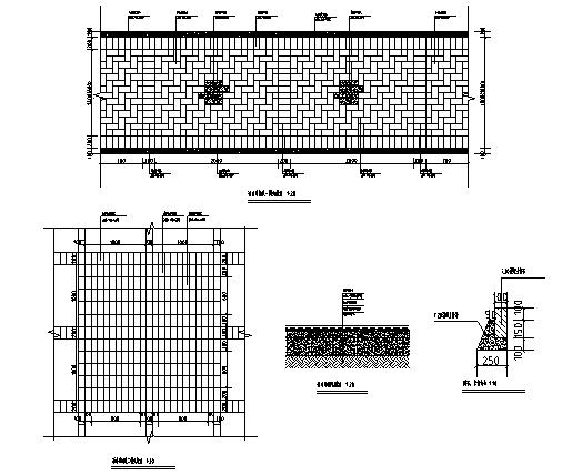 7透水砖详图