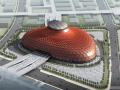 [上海]国家级别花瓣平面展览馆建筑方案文本(含景观室内设计)