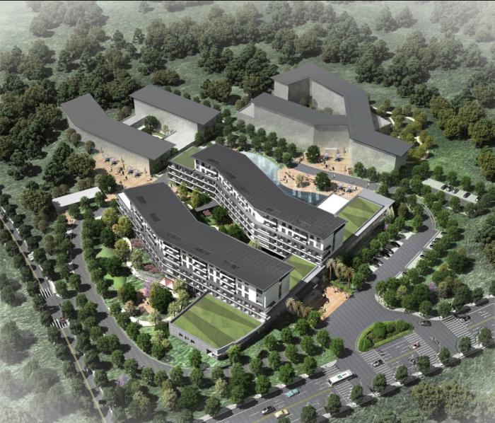 [四川]复合多元功能地域特色福利院改扩建概念设计方案设计