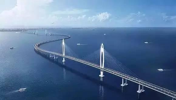 4公里深中通道跨海大桥与港珠澳大桥一样 看方案图,颜值爆