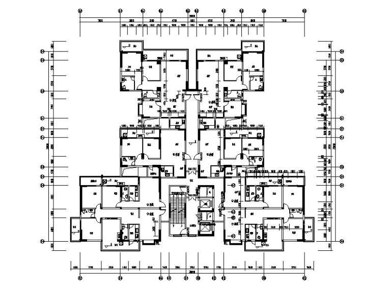 公寓住宅设计平面图_1