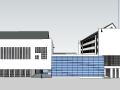 [徽派]中式体育馆SU建筑模型
