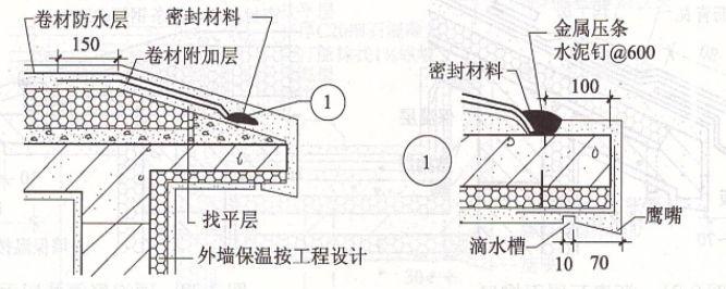屋面细部做法及控制要点