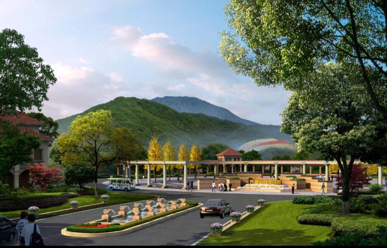 [山东]青岛芳香山谷度假区概念规划设计