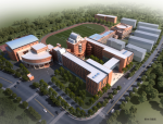 [上海]高层欧式风格中学改扩建投标方案
