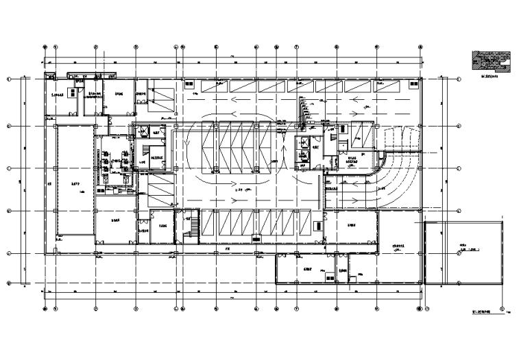 北京立水桥酒店暖通设计施工图