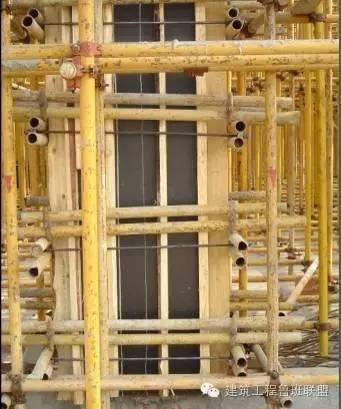 剪力墙模板只要是这样施工的就是精品工程了