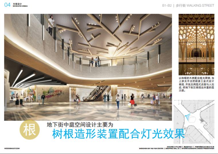 [深圳]知名商业购物中心室内设计方案(含效果图)