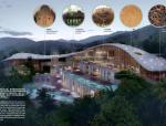 [海南]生态雨林原乡野宿旅游度假酒店景观设计方案
