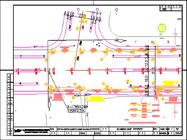 市政道路工程排水设计图