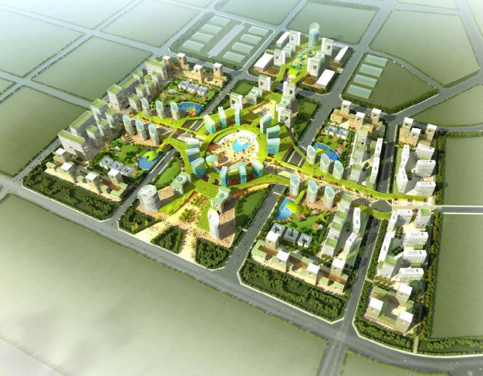 北京绿色光谷概念规划设计
